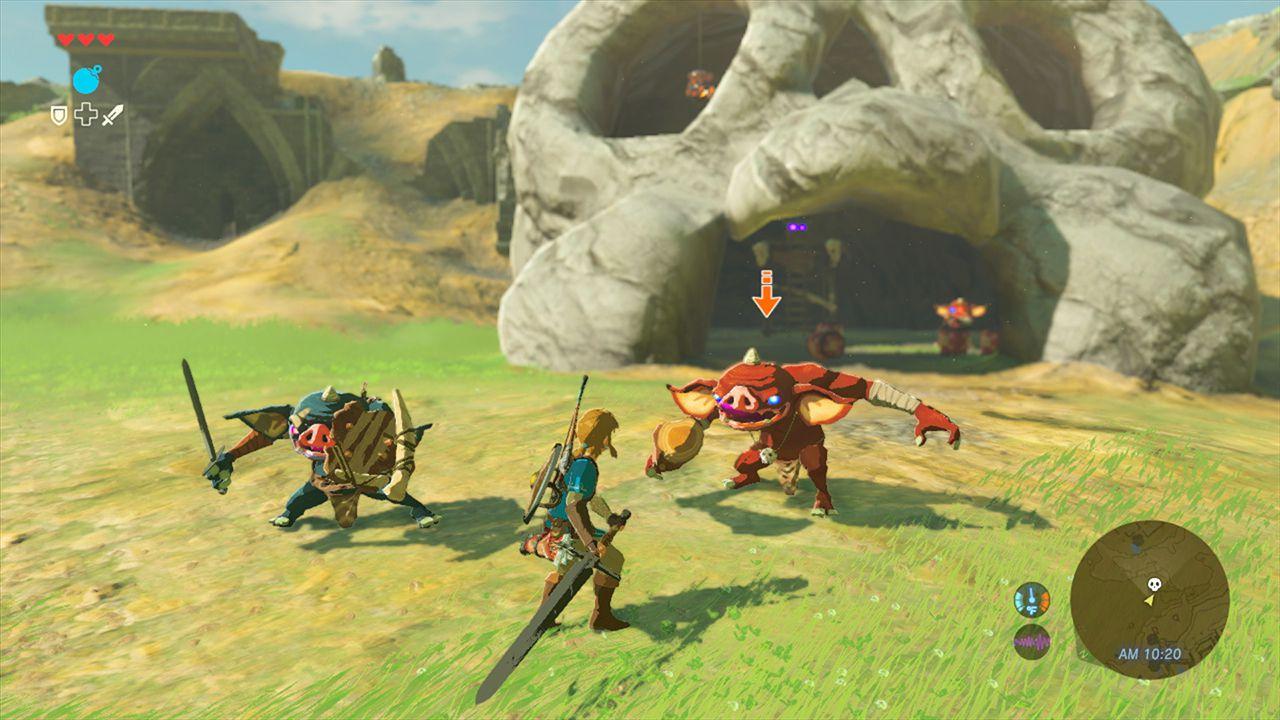 Link attacca in volo in un nuovo video di Zelda: Breath of the Wild