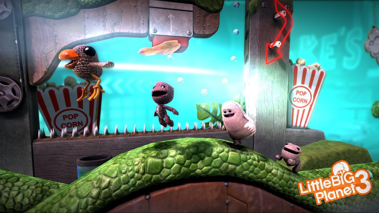 Little Big Planet 3: arriva la nuova edizione dei Sackie Awards