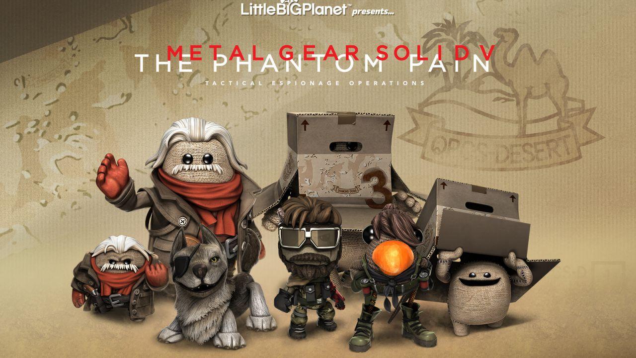 LittleBigPlanet 3: disponibili i costumi dedicati a Metal Gear Solid 5 The Phantom Pain