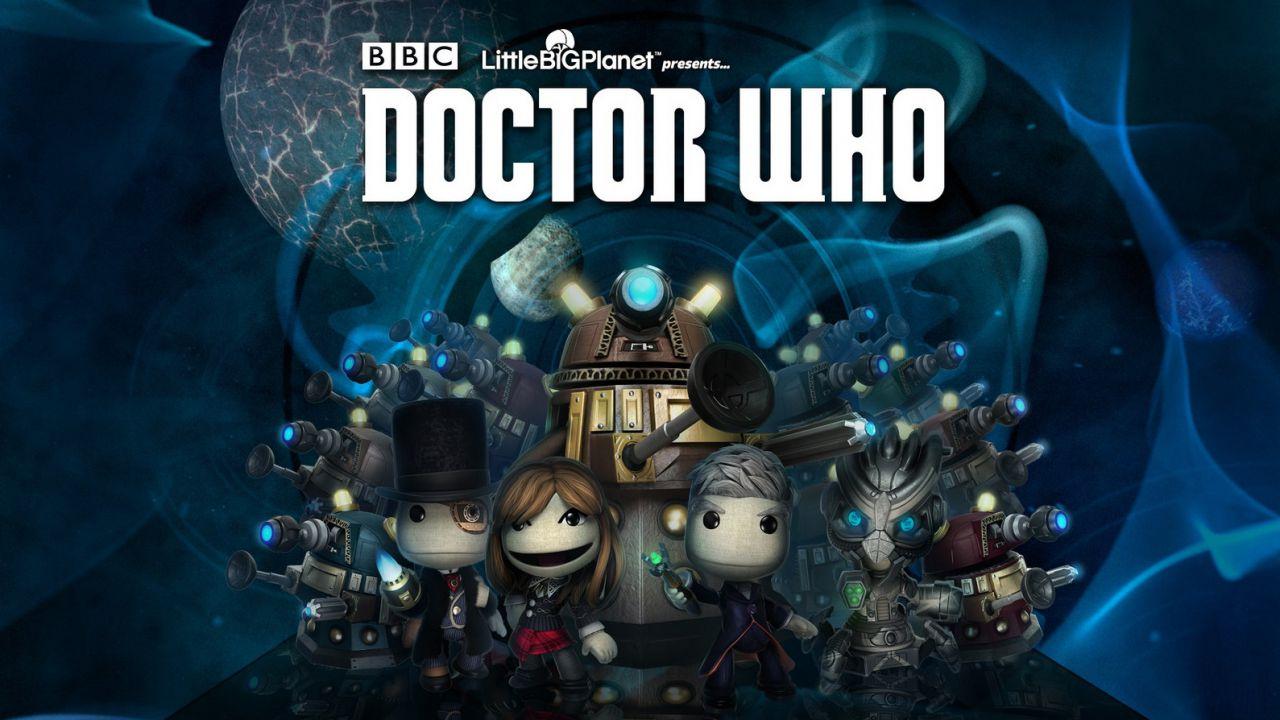 LittleBigPlanet 3: in arrivo i costumi del Doctor Who