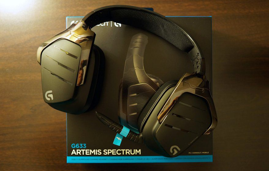 Logitech G Presenta I Due Nuovi Headset G633 E G933