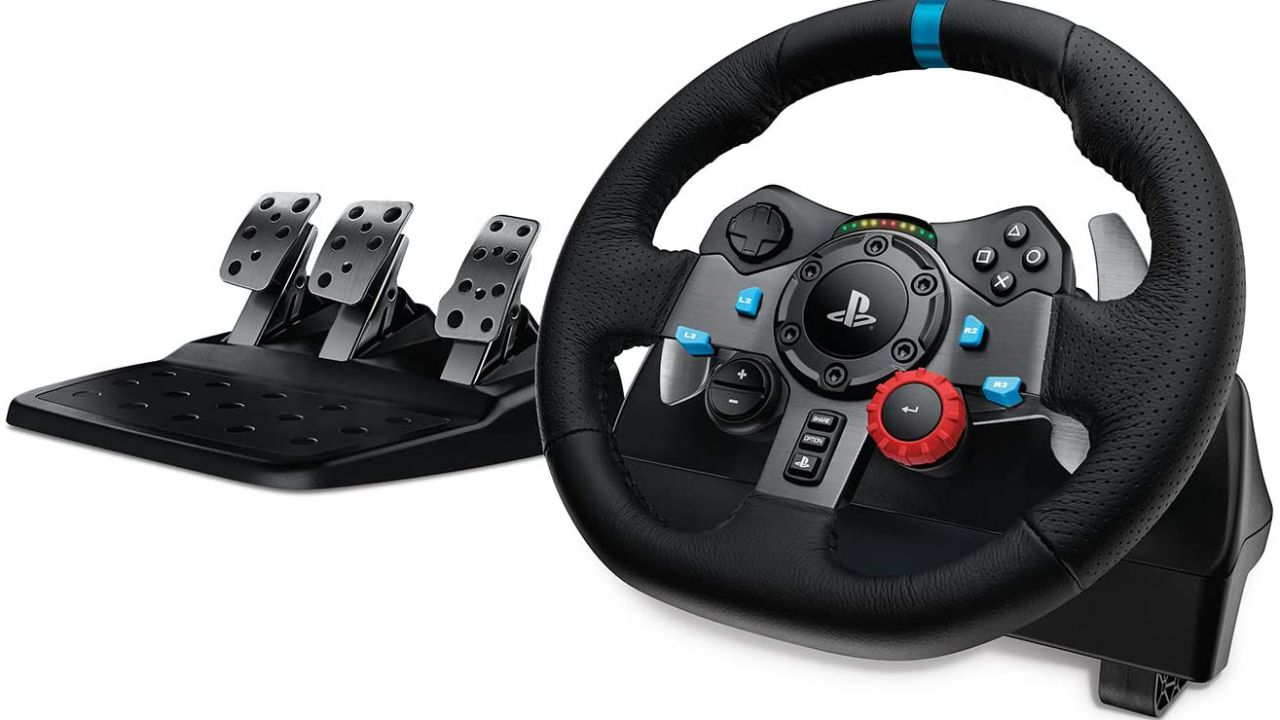 Logitech G29 Driving Force: volante e pedaliera in offerta per il Black Friday