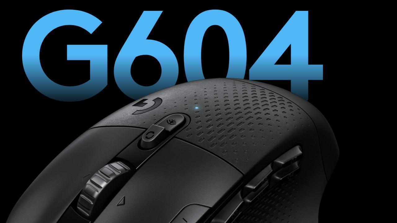 Logitech presenta il nuovo mouse wireless G604 Lightspeed da gaming: autonomia da record