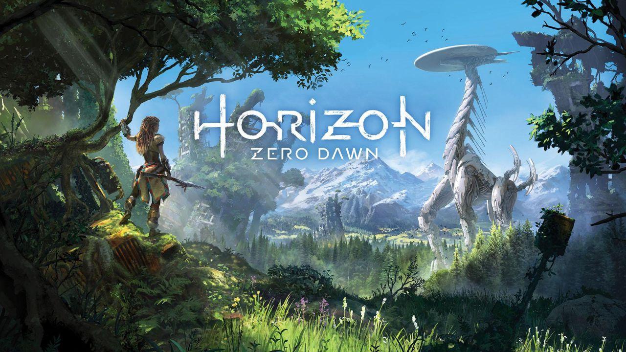 Los Angeles accoglie una gigantografia di Horizon Zero Dawn
