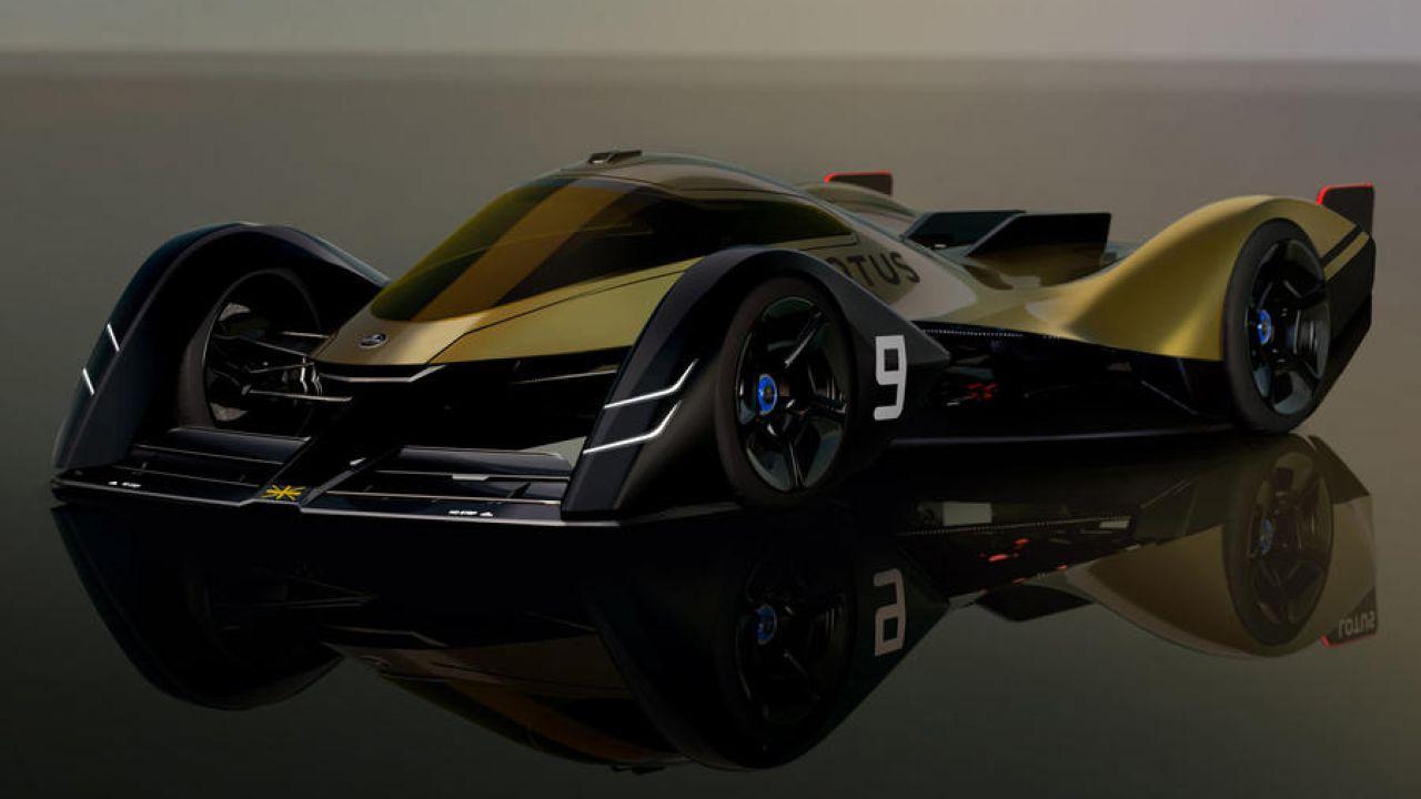 Lotus E-R9: ecco il bolide elettrico per dominare Le Mans nell'anno 2030