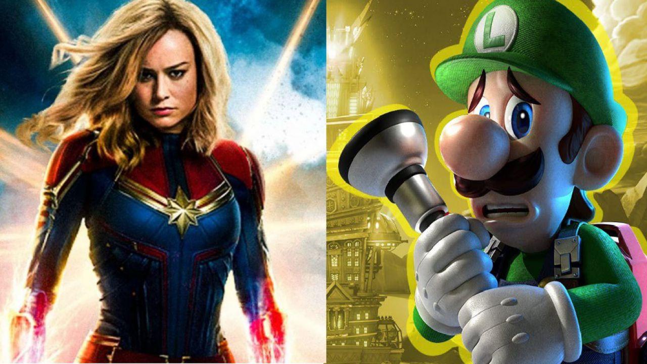 Luigi's Mansion 3 e Captain Marvel: l'attrice Brie Larson è una grande fan Nintendo!