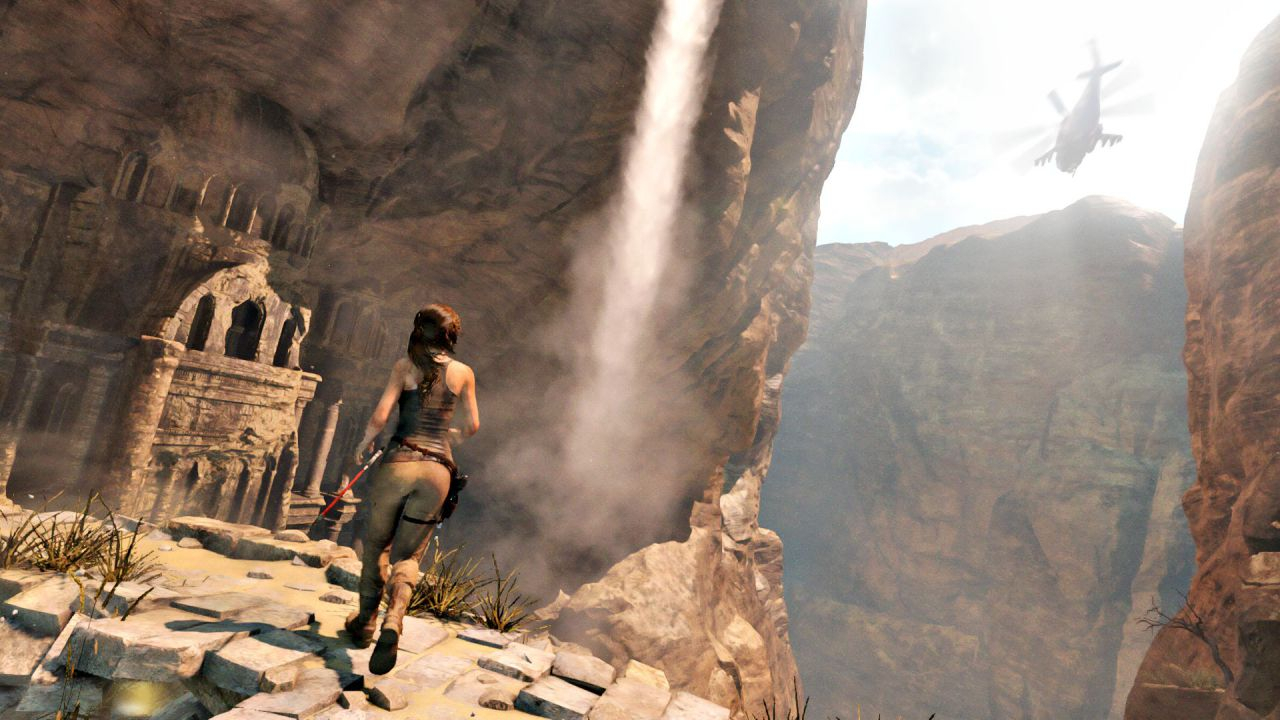 Lungo video gameplay per Rise of the Tomb Raider