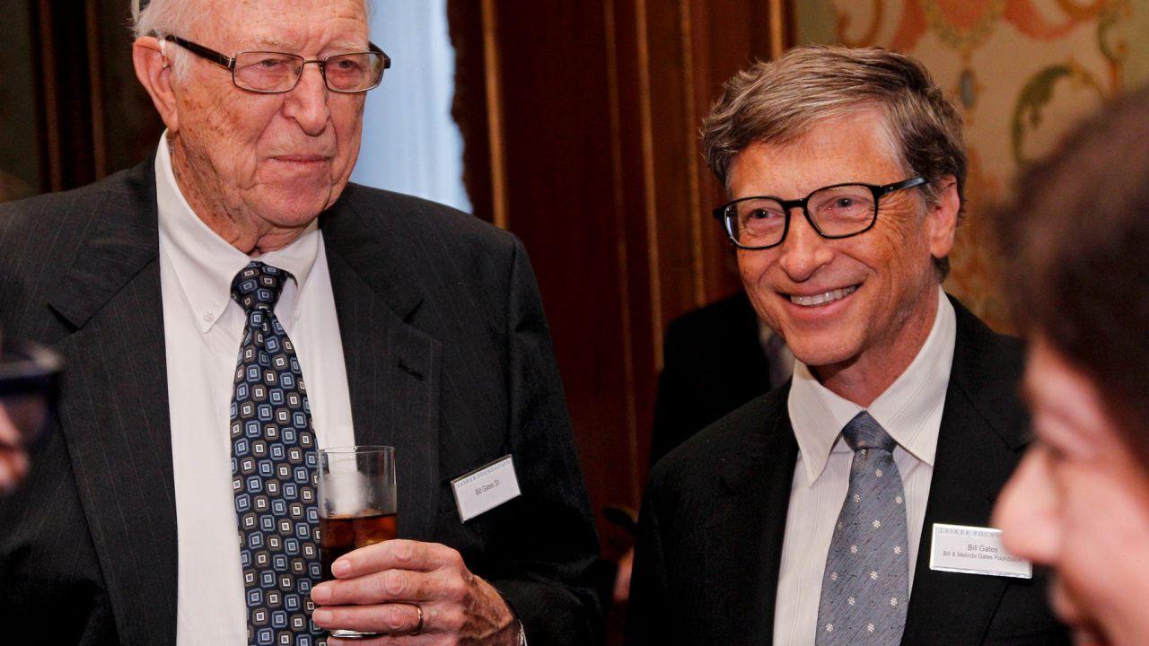 Lutto in casa Bill Gates: morto a 94 anni il padre del fondatore di Microsoft