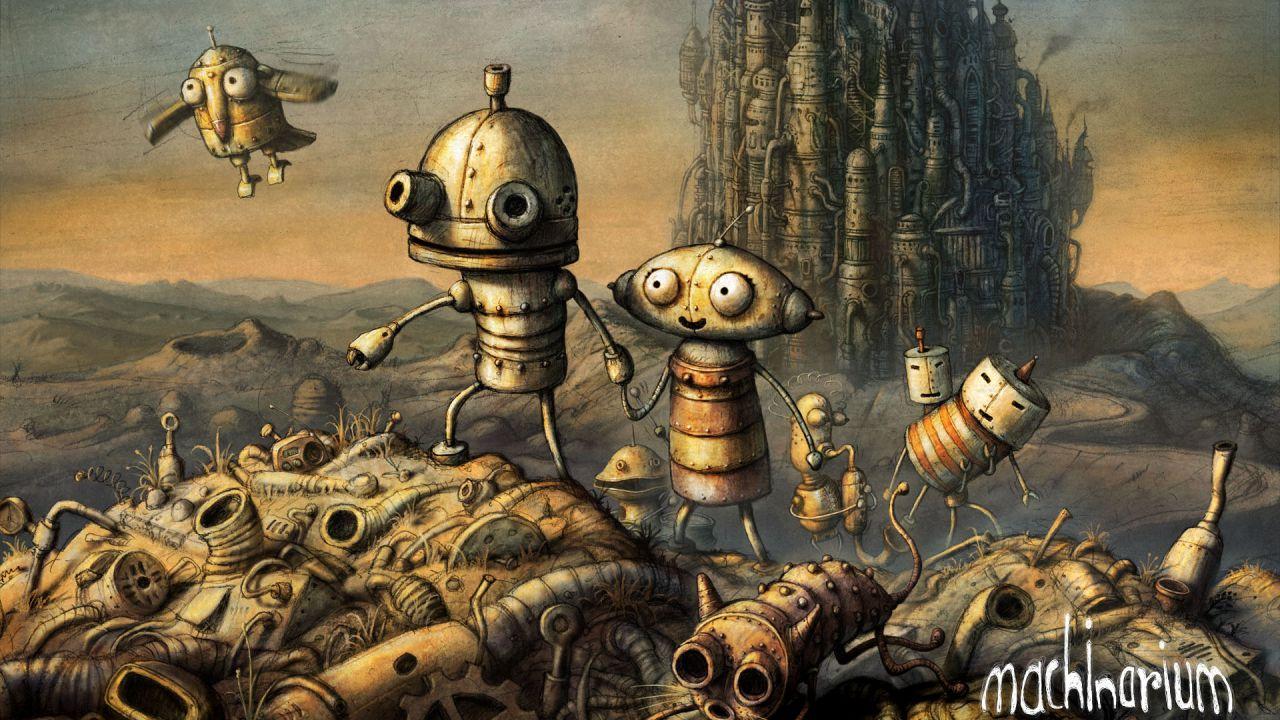 Machinarium arriverà presto su PlayStation 4?