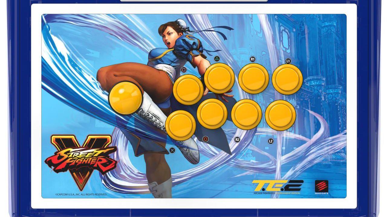 Mad Catz annuncia il primo FightStick per Street Fighter V