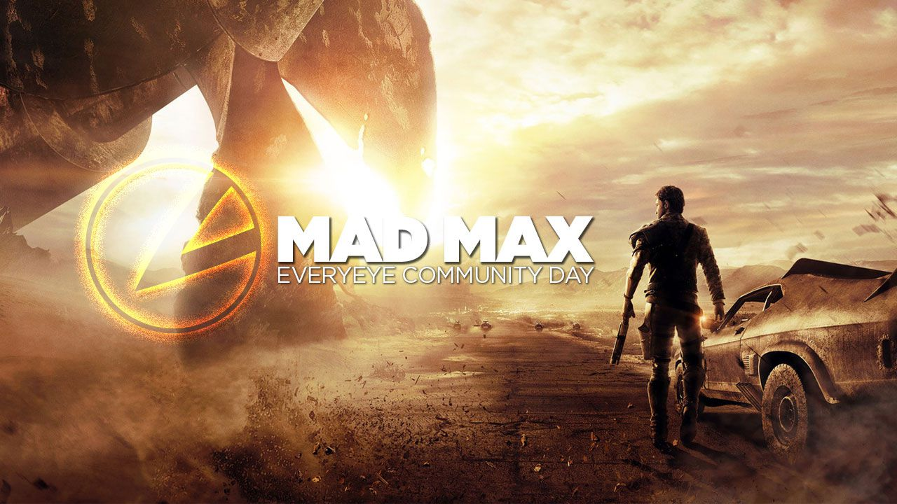 Mad Max giocato su Twitch alle 15:00 in diretta dal Community Day di Everyeye.it