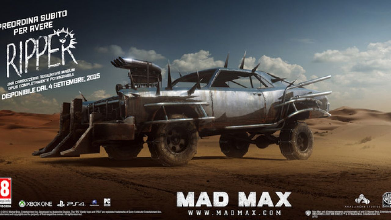Mad Max: video gameplay trapela sul web