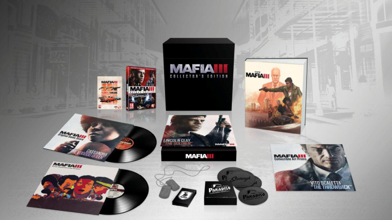 Mafia 3: Collector's Edition e collaborazione con Playboy
