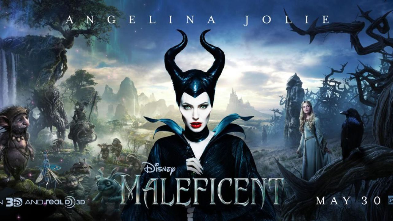 Maleficient, foto dal set con Angelina Jolie
