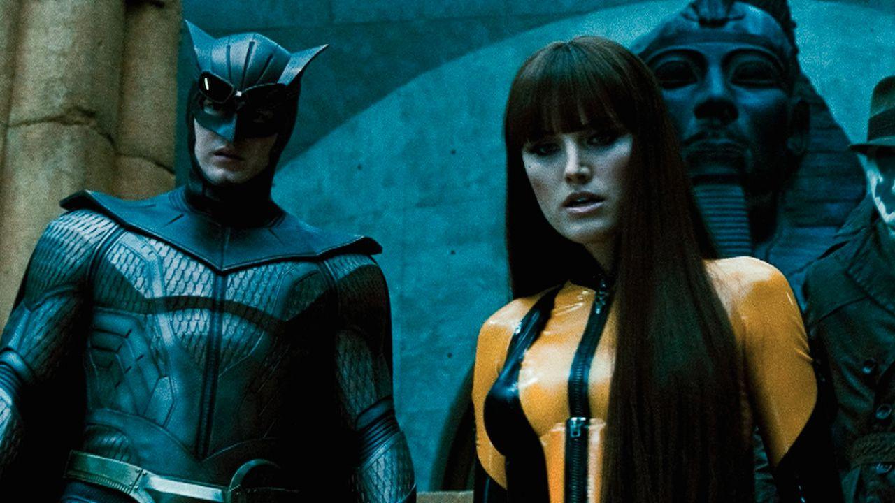 Malin Akerman ricorda Watchmen di Zack Snyder: 'Un capolavoro visivo'