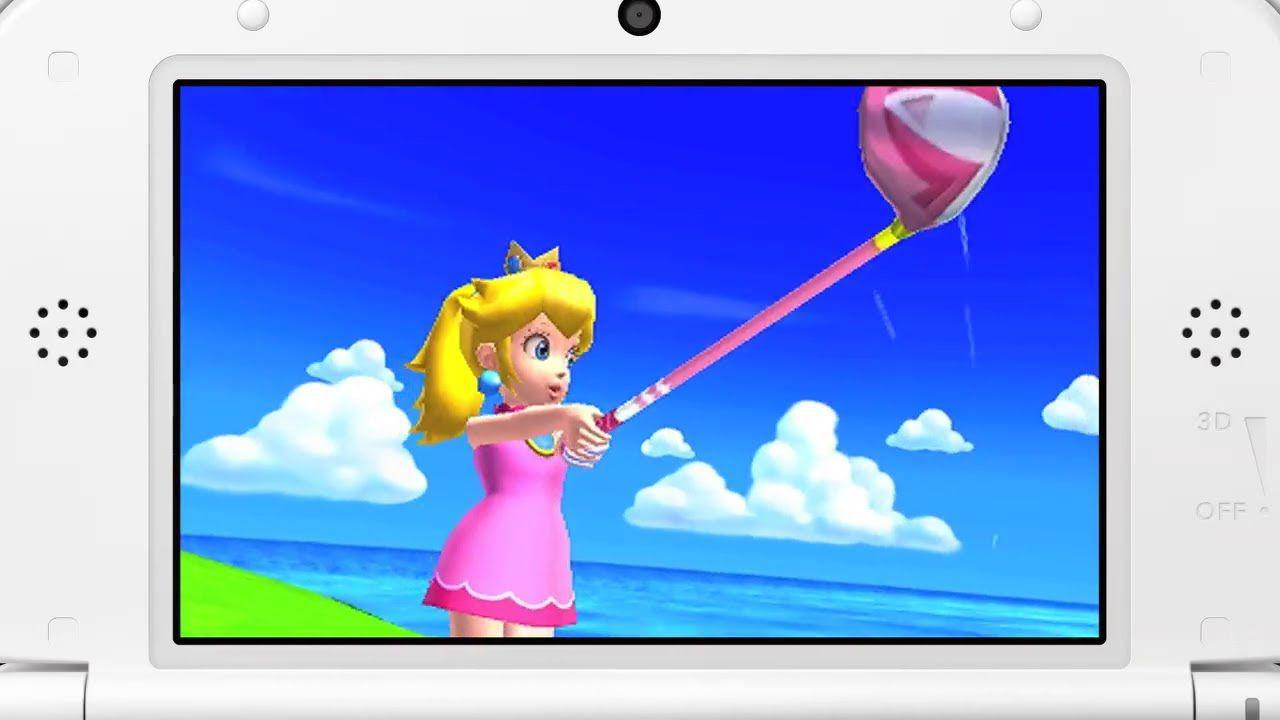 Mario Golf World Tour: video gameplay del DLC Mushroom Pack
