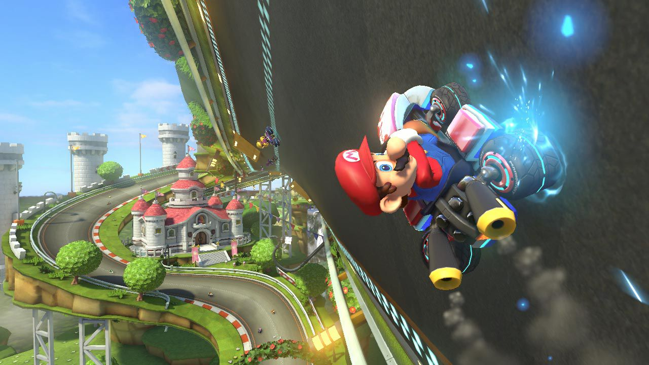 Mario Kart 8: artwork per il DLC di Animal Crossing