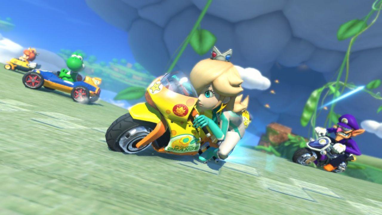 Mario Kart 8: la risoluzione nativa è a 720p, difetti per il frame rate