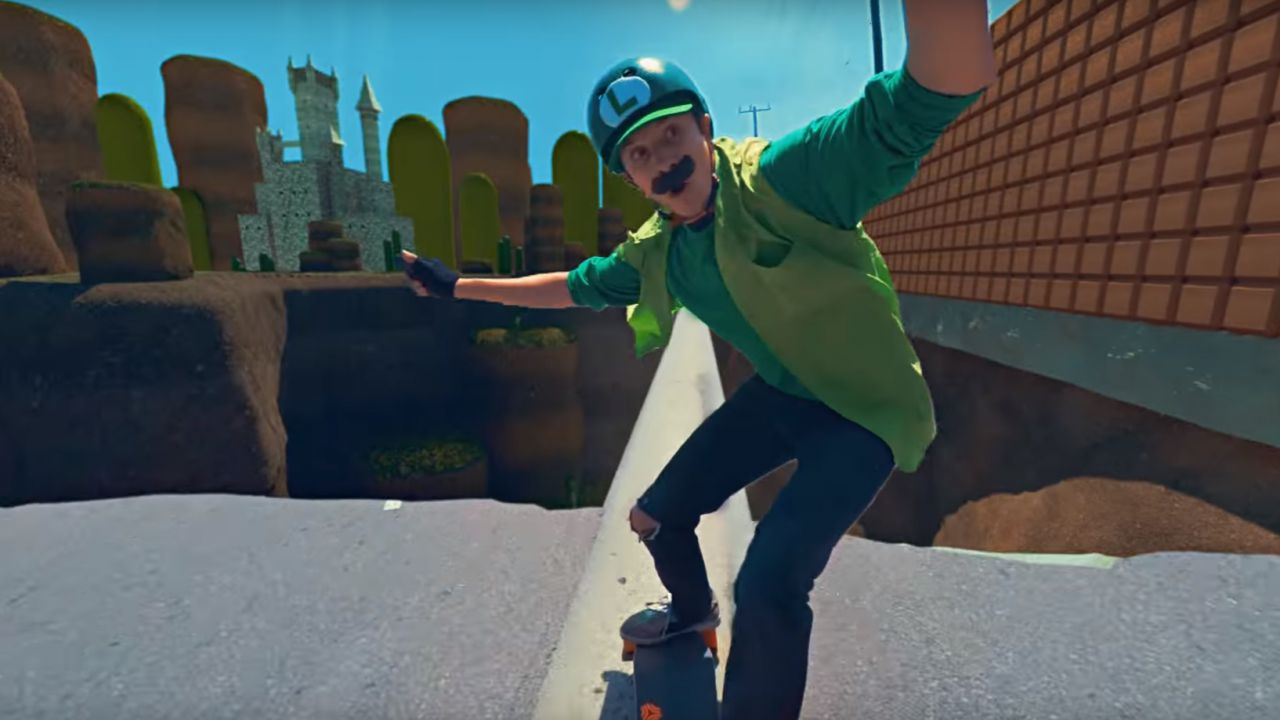 Mario Kart diventa realtà in Mario Skate