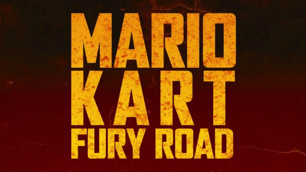 Mario Kart Fury Road: il folle crossover con Mad Max