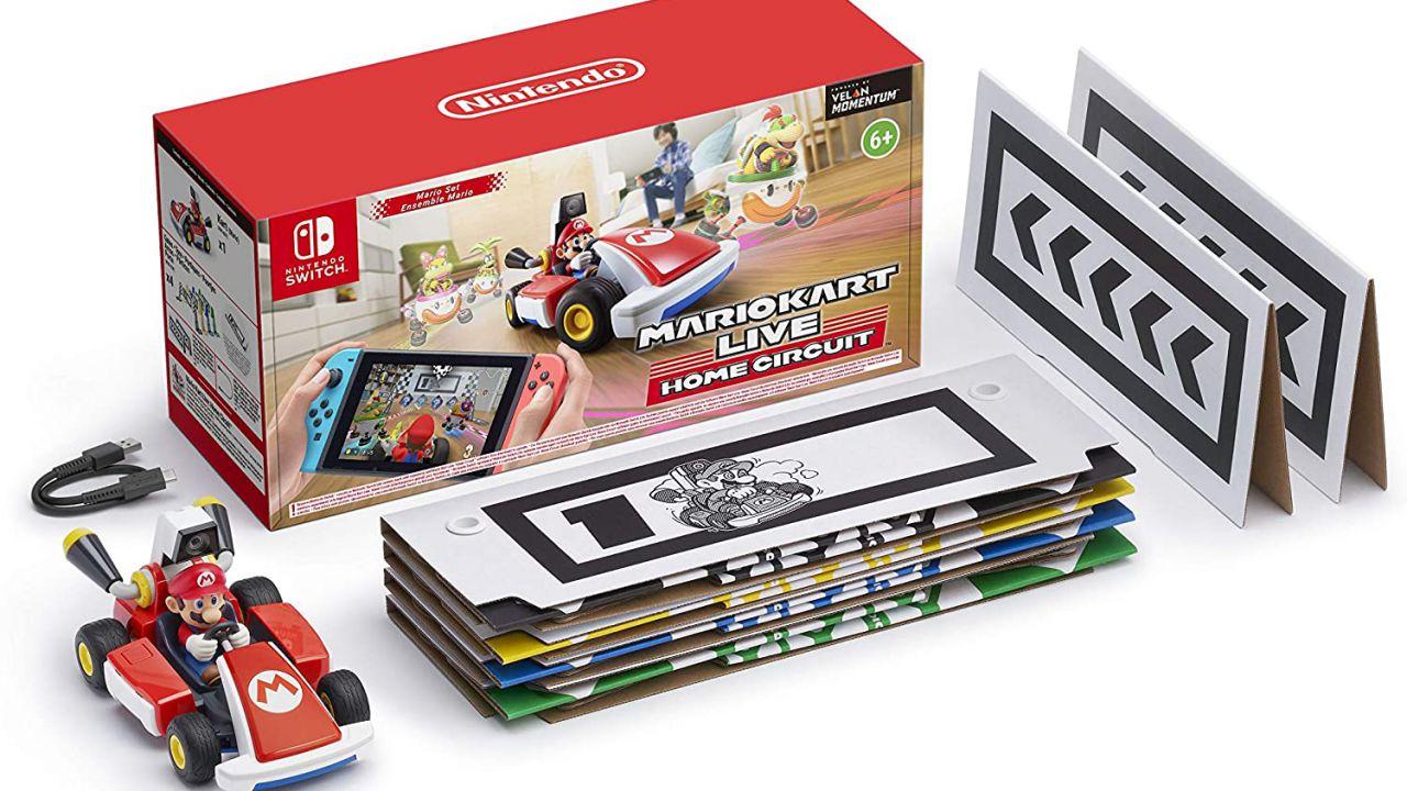 Mario Kart Live Home Circuit in preordine su Amazon