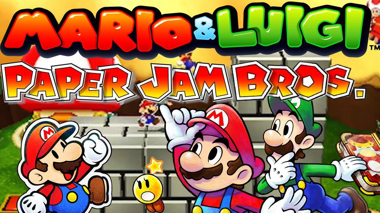 Mario & Luigi Paper Jam debutta al secondo posto della classifica software giapponese