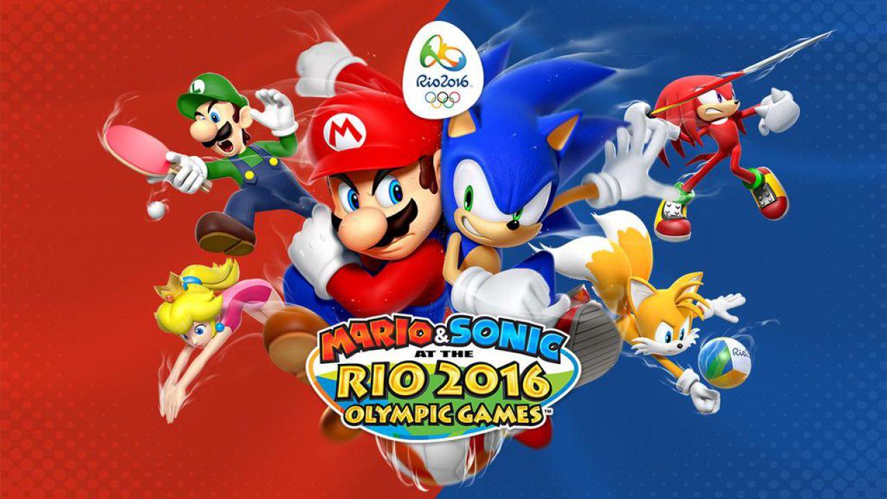 Mario & Sonic alle Olimpiadi di Rio 2016 per Nintendo 3DS uscirà ad aprile