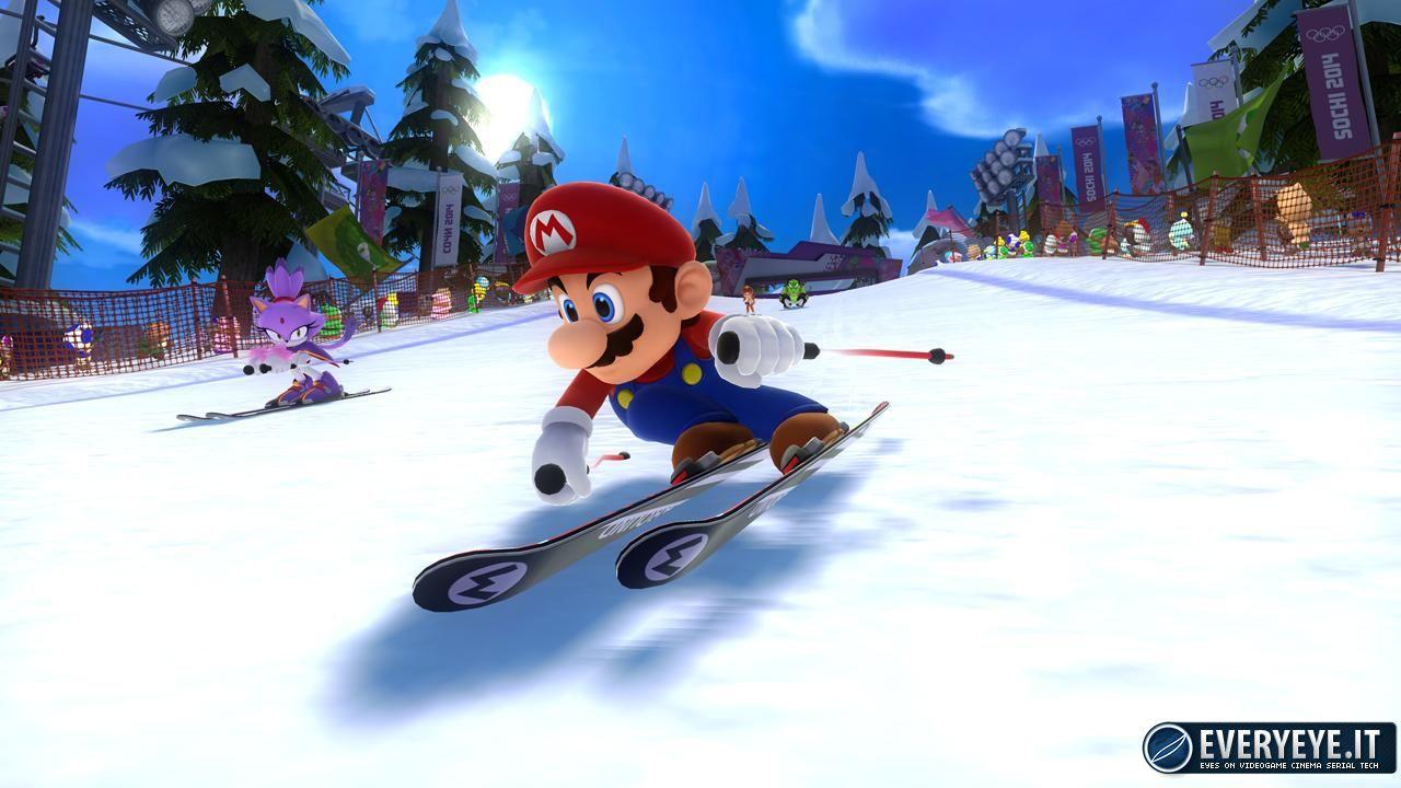 Mario & Sonic ai Giochi Olimpici Invernali 2014: mostrata la box art ufficiale