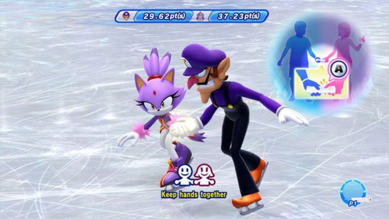 Mario & Sonic ai Giochi Olimpici Invernali 2014: nuovo video