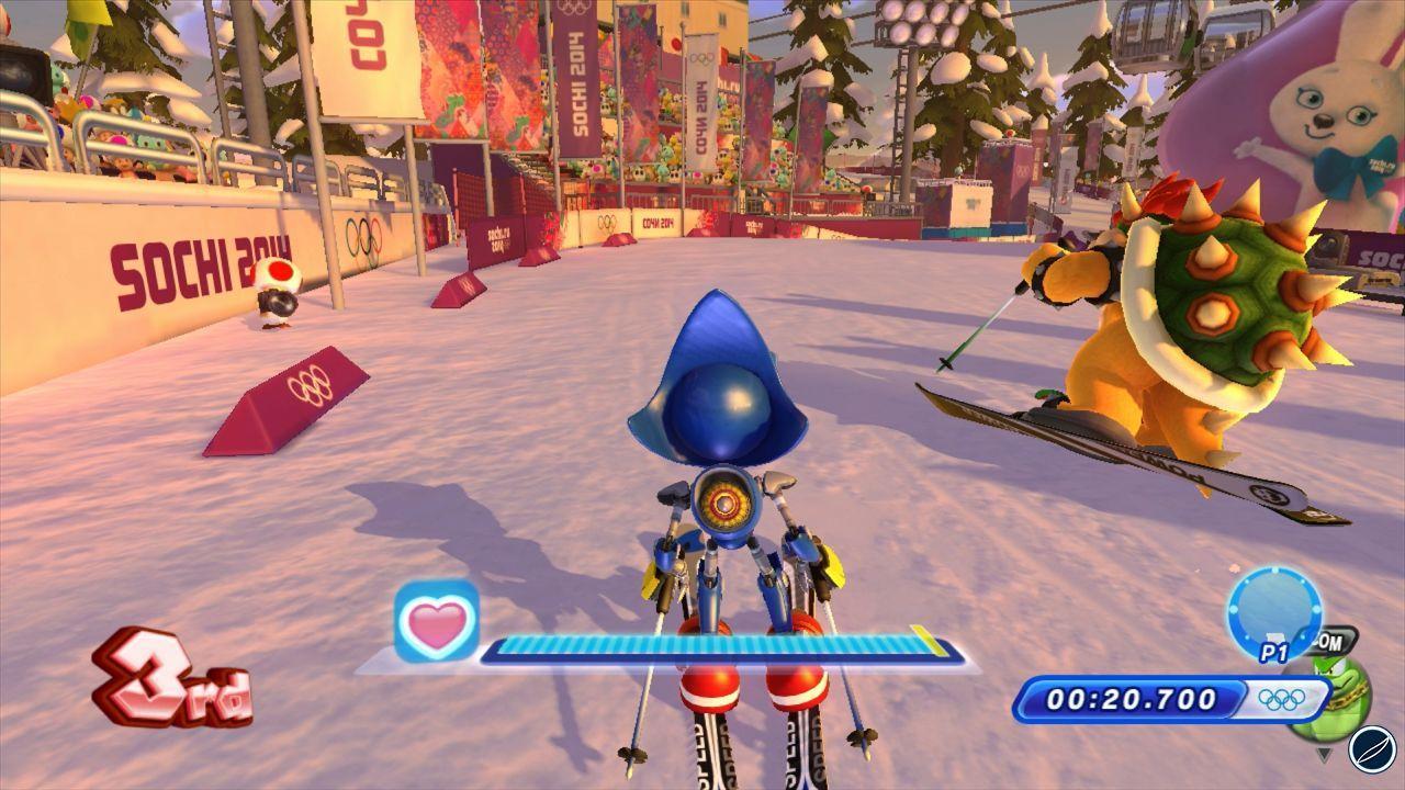 Mario & Sonic ai Giochi Olimpici di Sochi 2014 arriverà in Europa l'8 Novembre