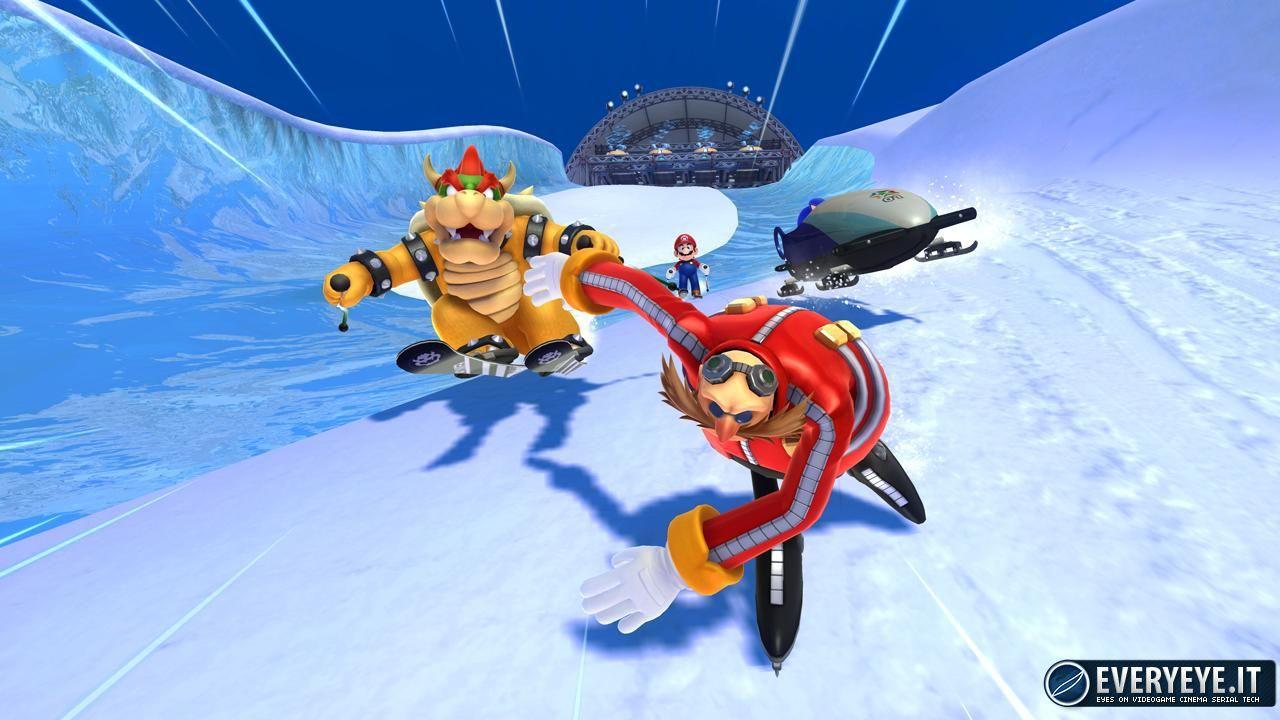 Mario & Sonic ai Giochi Olimpici di Sochi 2014: la data dell'8 Novembre è frutto di un errore