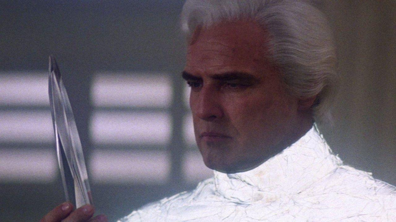 Marlon Brando in Superman 'prese i suoi due milioni e fuggì' secondo Christopher Reeve