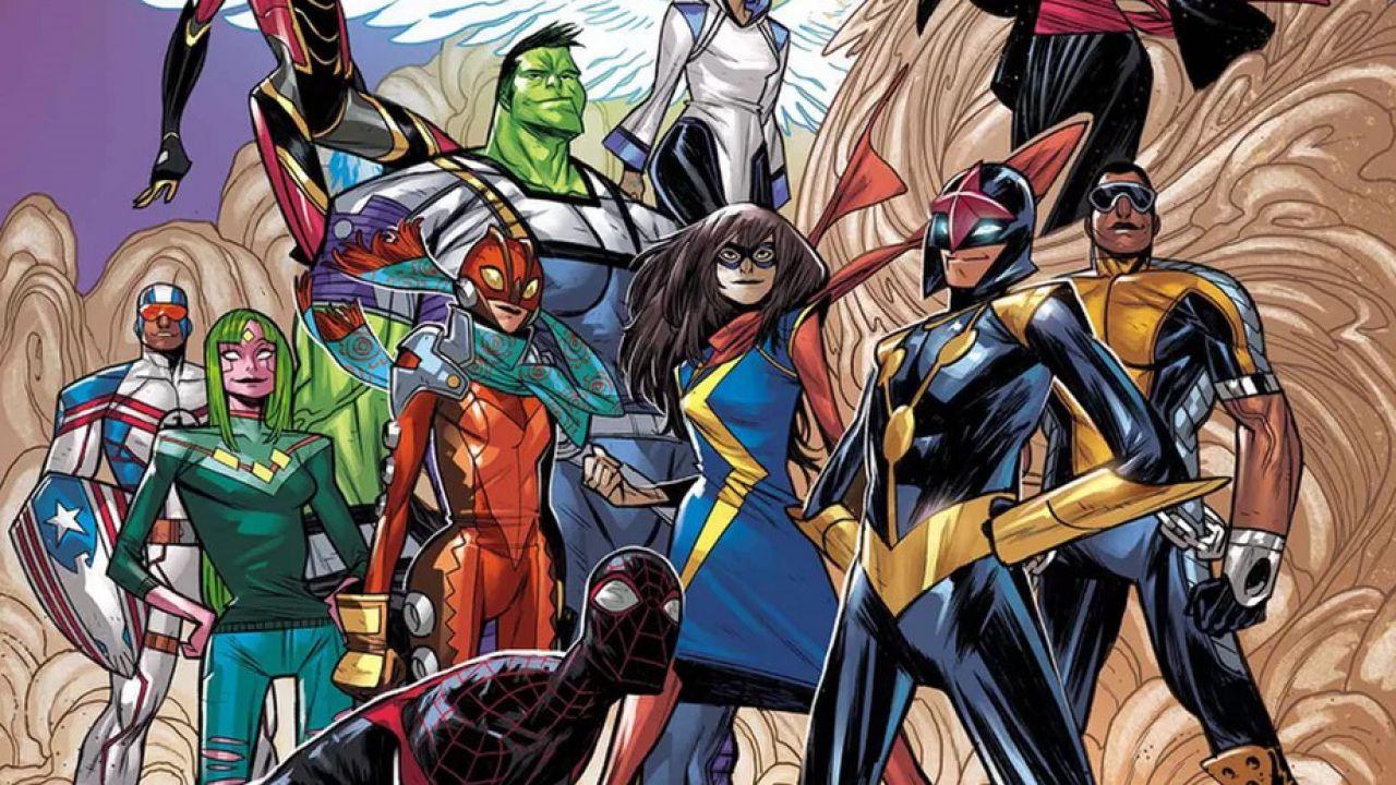 Marvel Comics: importanti cambiamenti in arrivo per i giovani supereroi Champions