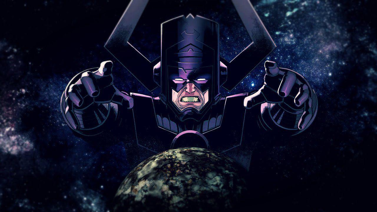 Marvel, Galactus e Silver Surfer affrontano gli Avengers nella nuova fan-art