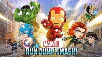 Marvel Run Jump Smash disponibile su App Store