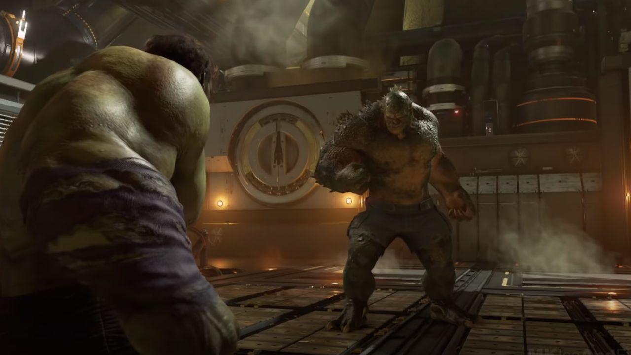 Marvel's Avengers, la boss fight con Abominio nei panni di Hulk