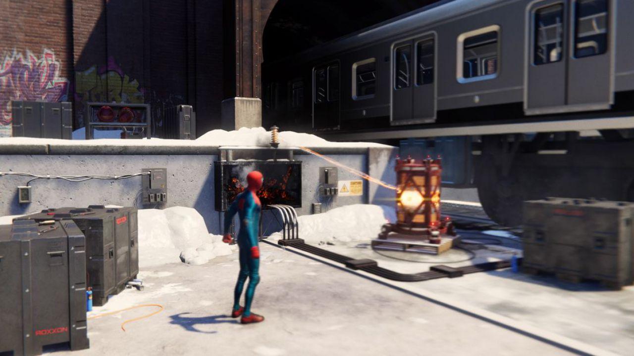 Marvel's Spider-Man Miles Morales: come risolvere il puzzle del treno