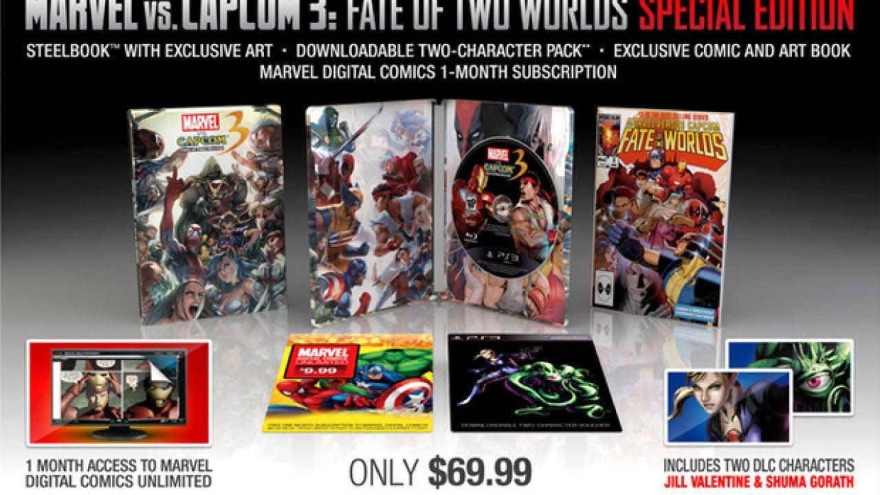 Marvel vs Capcom 3, Capcom si aspetta maggiori vendite rispetto a Street Fighter 4
