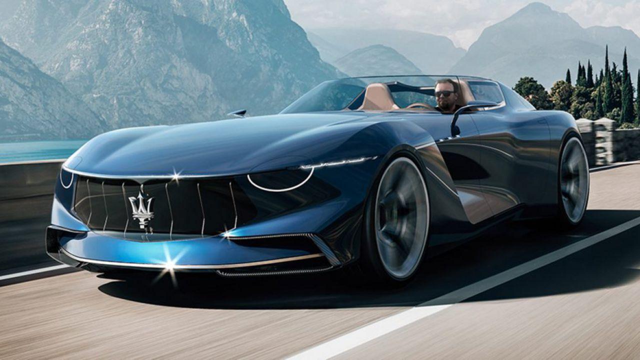 Maserati GranTurismo Targa: il concept ha un design spettacolare