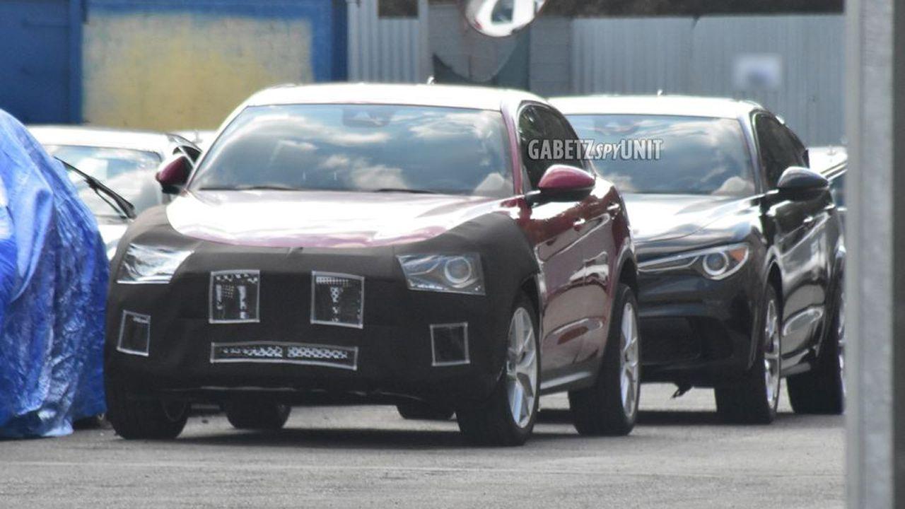 Maserati 'Levantina' pizzicata per la prima volta in nuove foto spia