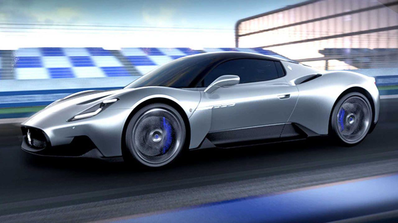 Maserati presenta ufficialmente la MC20 e il nuovo logo del Tridente
