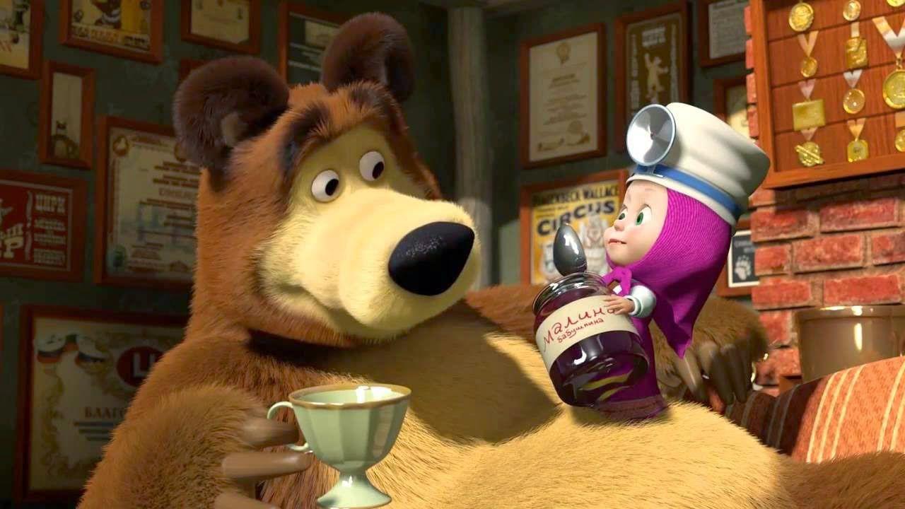 Masha e orso arriverà nei cinema a natale con otto nuovi