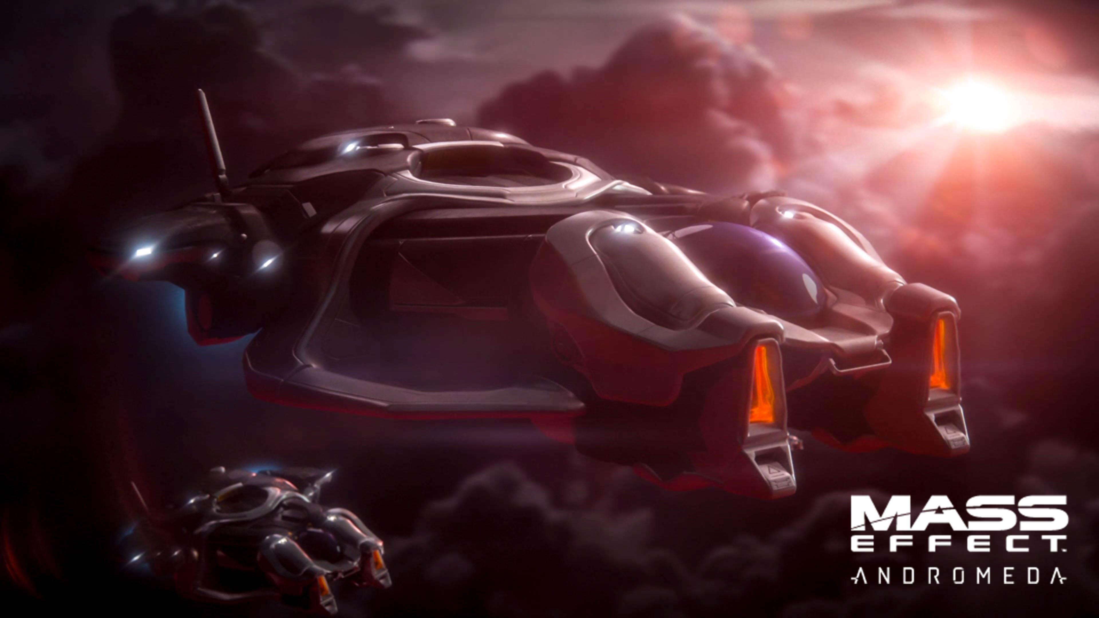 Mass Effect Andromeda X5 Ghost: Mass Effect Andromeda: In Una Cut Scene Spunta Un Fucile