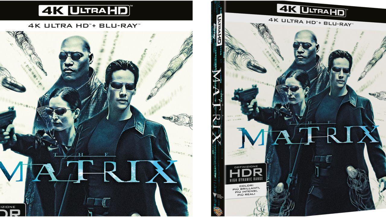 Matrix: il classico sci-fi degli anni '90 arriva in formato 4K Ultra HD