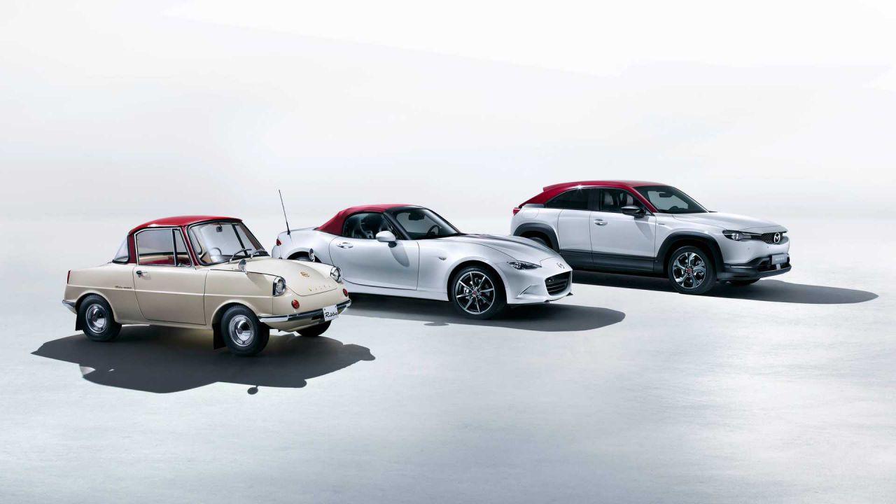 Mazda presenta i modelli dedicati ai 100 anni del brand