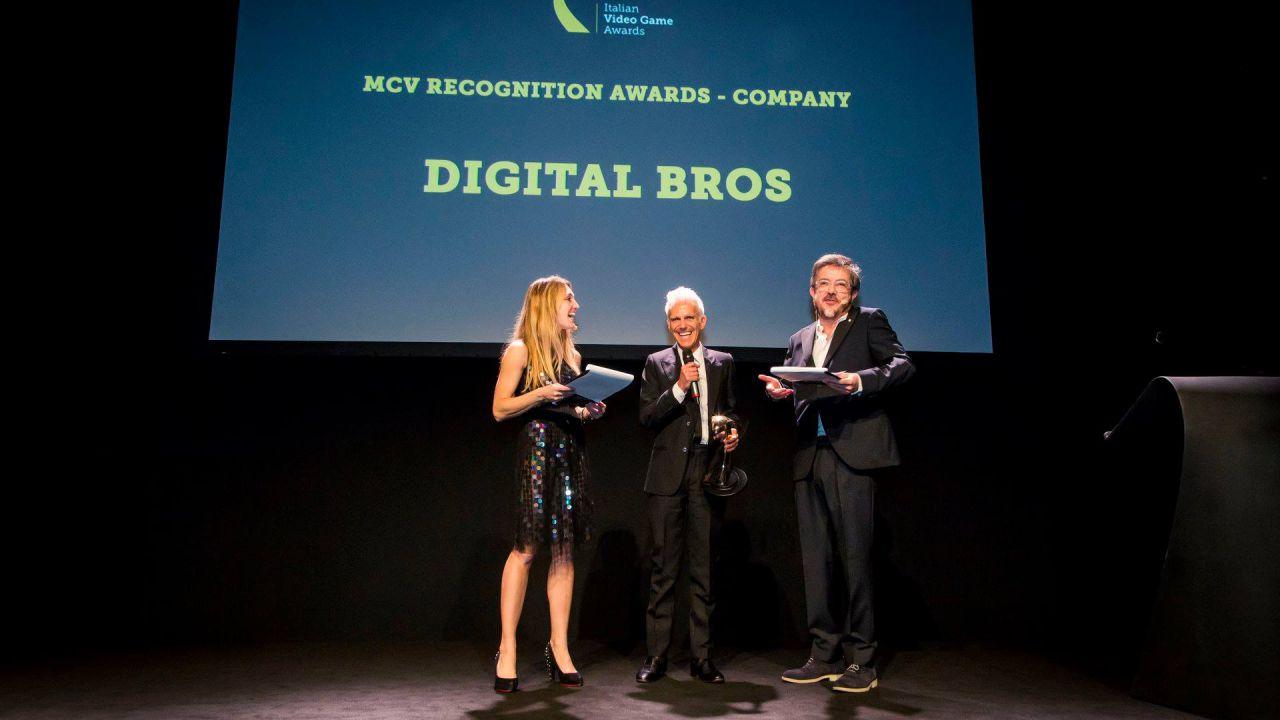 MCV premia Digital Bros come azienda italiana di maggior successo