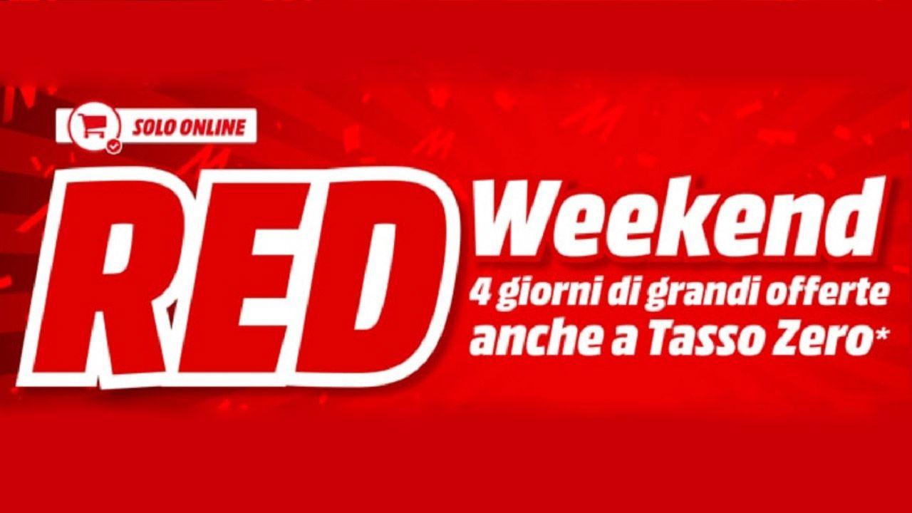 MediaWorld lancia il RED Weekend: offerte su TV, smartphone e notebook