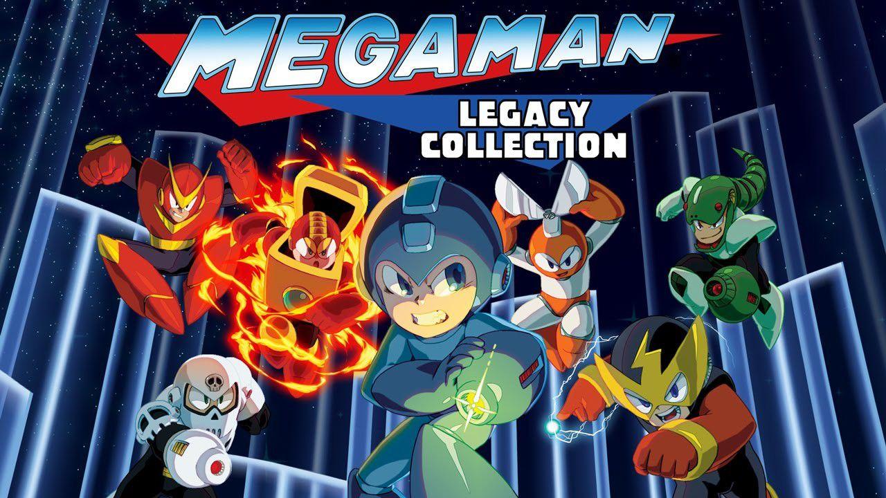 Mega Man Legacy Collection disponibile per il download