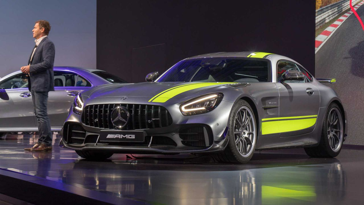 Mercedes-AMG GT Black Series: la nuova supercar è già in fase di test