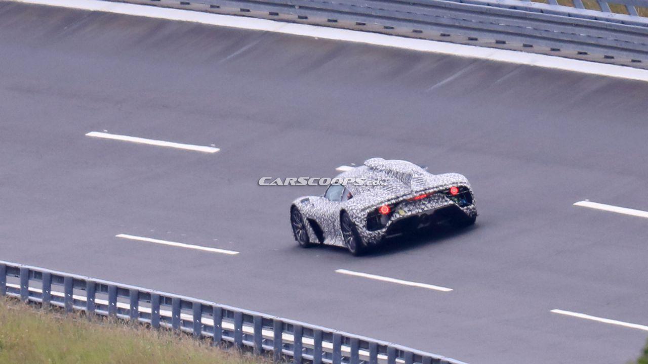 Mercedes-AMG One: prosegue lo sviluppo della hypercar ibrida